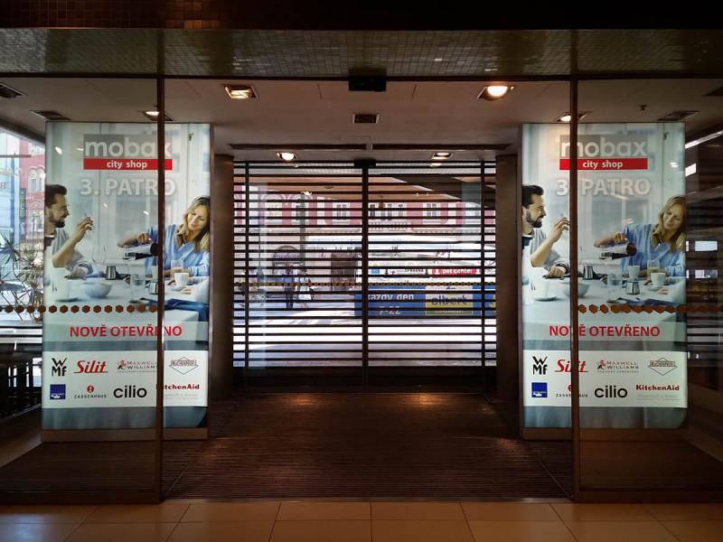 Reklamní panel světelný 145 x 275 cm oboustranný