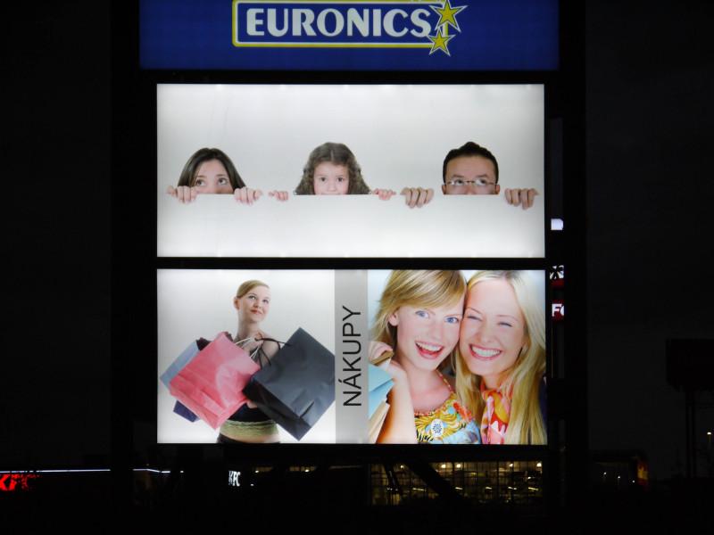 Reklamní světelný panel Billboard 460 x 210 cm